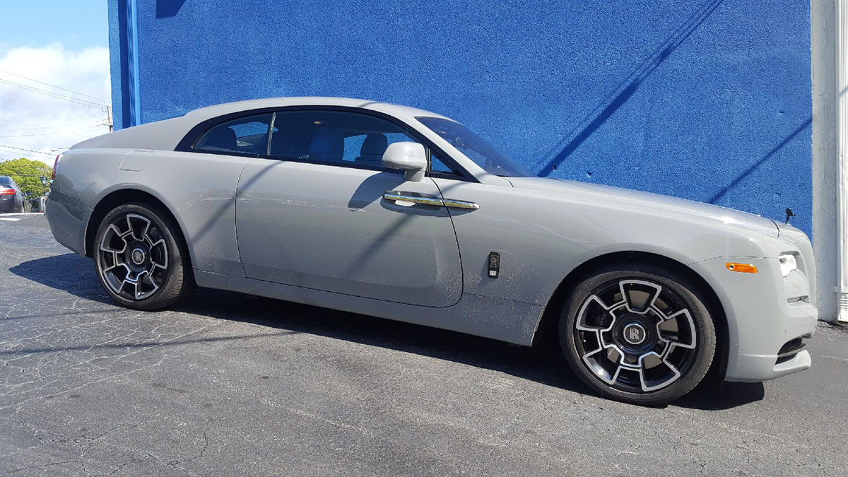 Rolls Royce Wraith black badge Edition