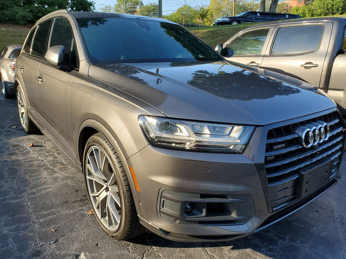 Audi Q7 full front end PPF and full ceramic tint