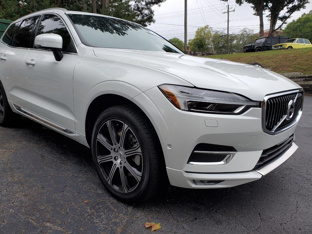 Volvo XC60 with ceramic tint and full PPF on front end