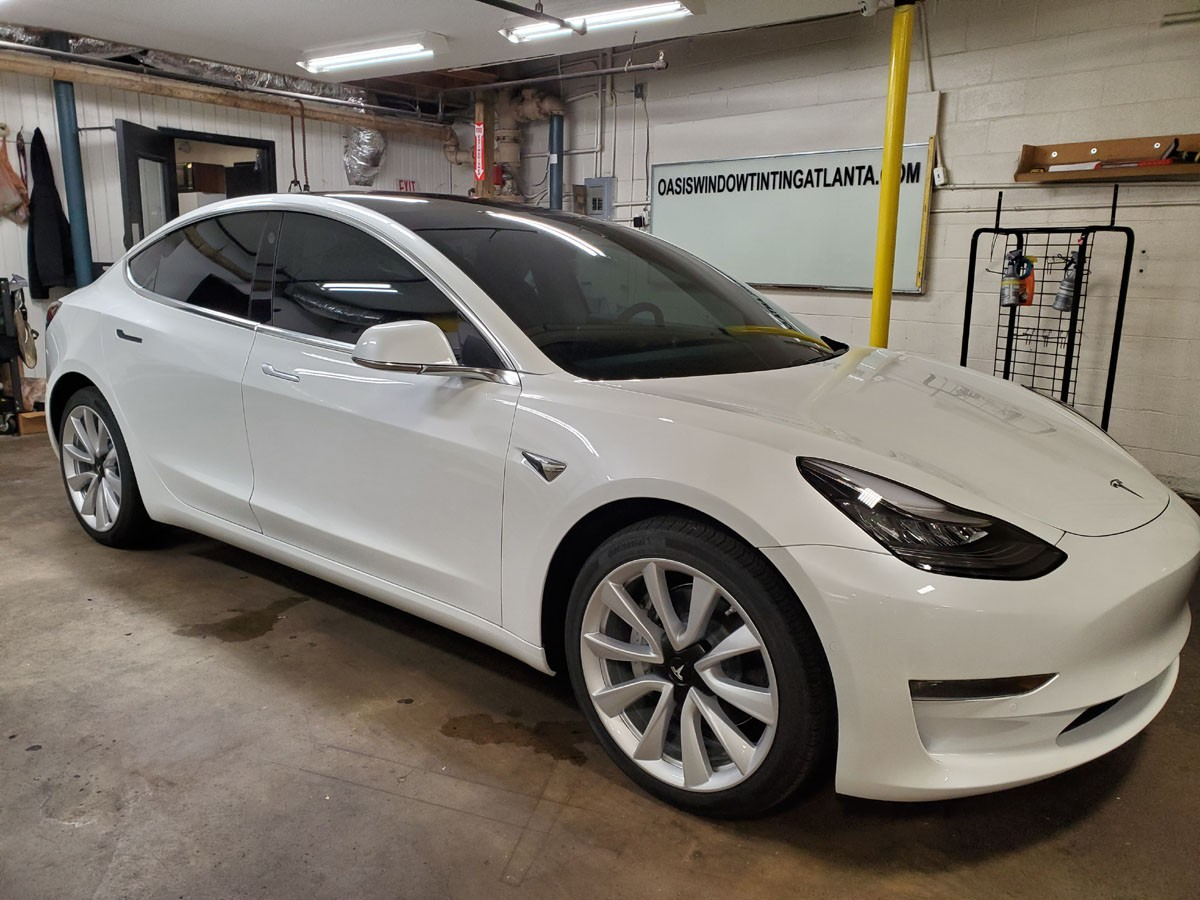 Tesla Model 3 full ceramic