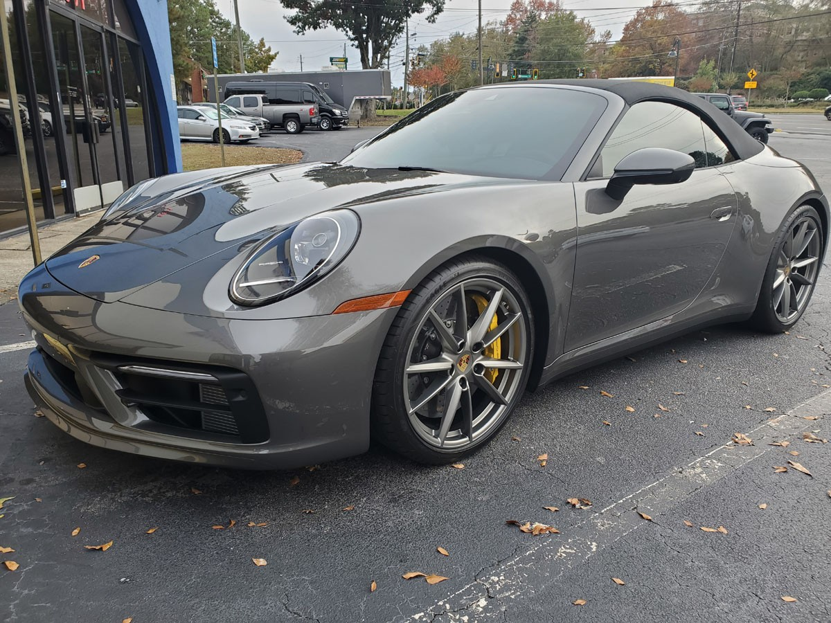Porsche 992 Full front end PPF and ceramic tint