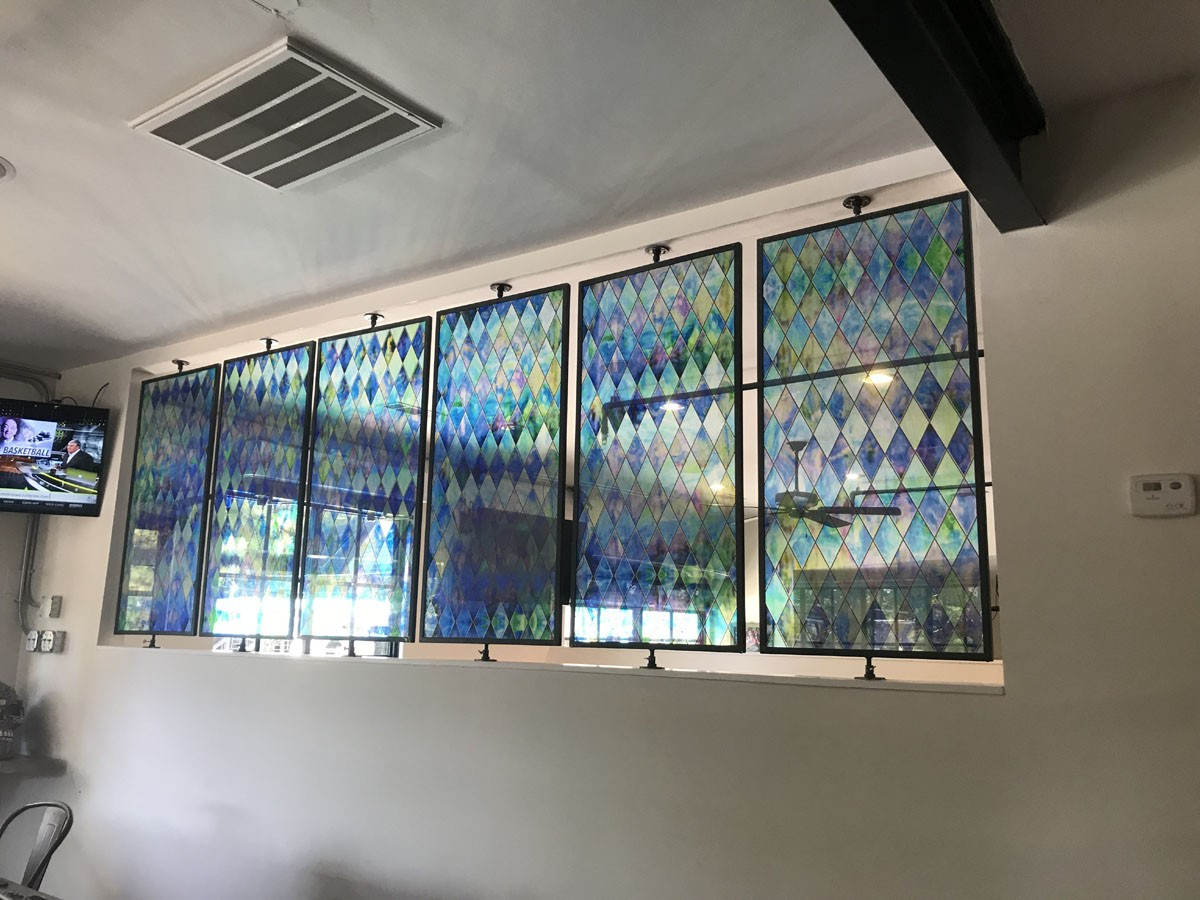 Stained Glass film