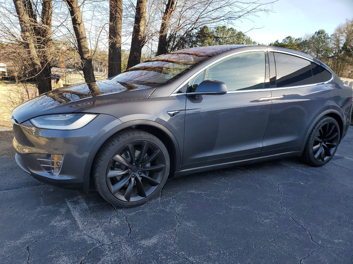 Tesla Model X, full front end PPF