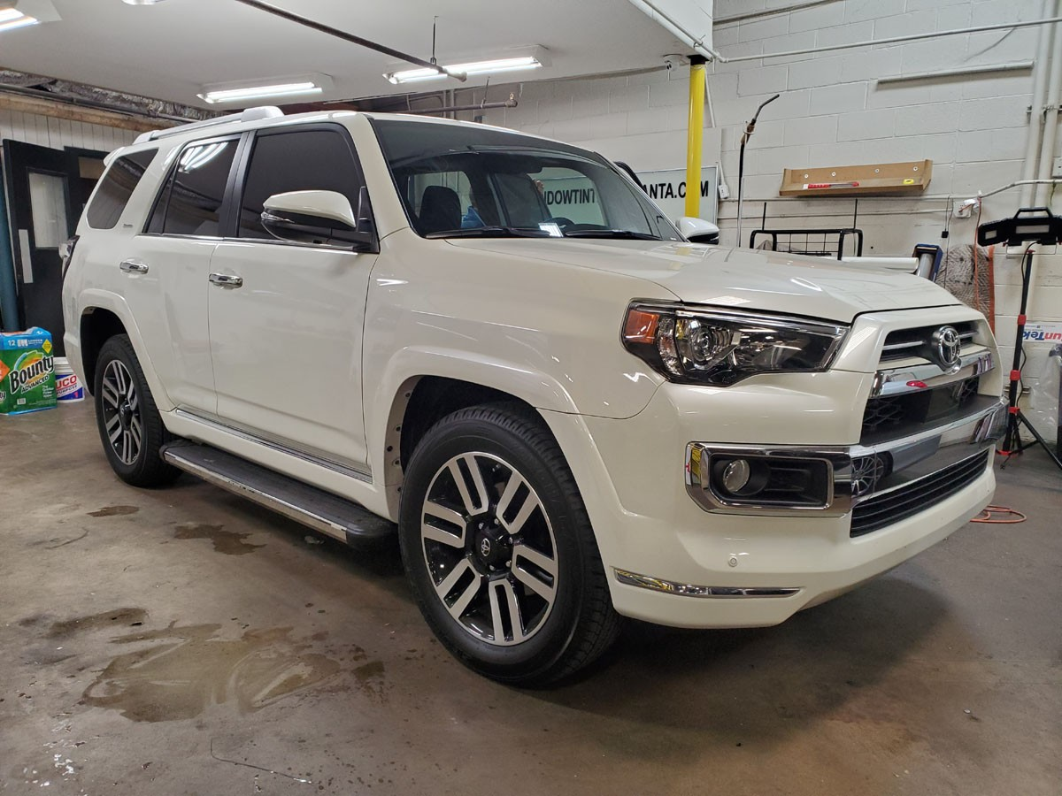 Toyota 4 Runner. All around