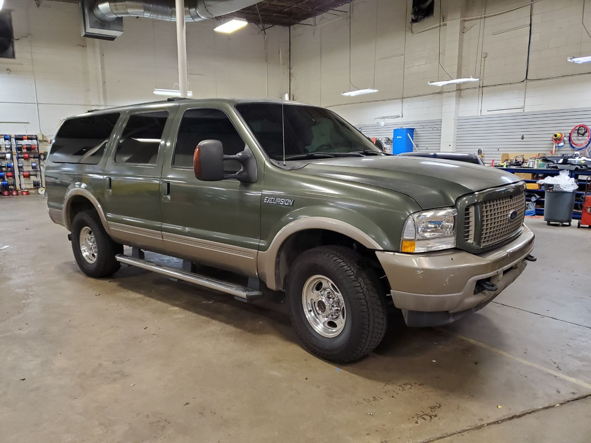 Ford Excursion. Ceramic all the way